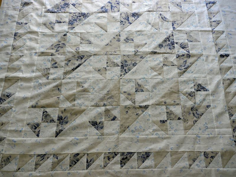 Linen quilts three