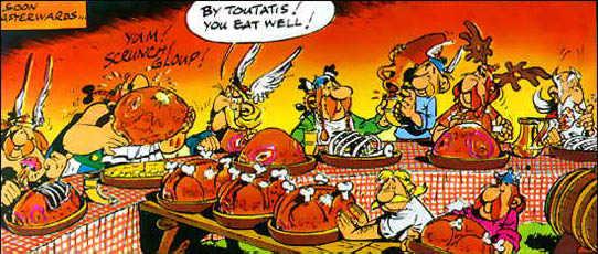 Asterix-banquet