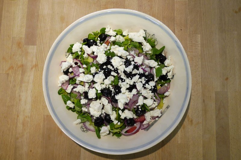 Greek cypriot salad